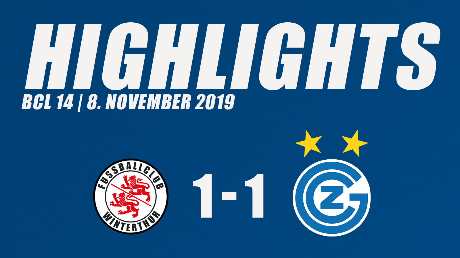 86TV | Highlights gegen den FC Winterthur